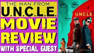 The Man from U.N.C.L.E. - spoiler film review (Bryan Lomax Movie Talk)