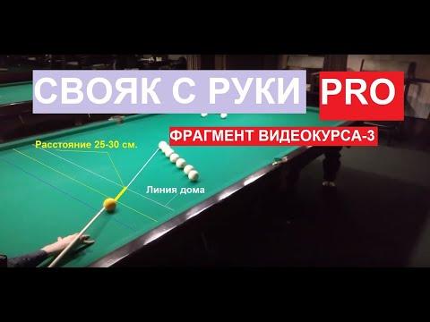 """""""СВОЯК С РУКИ PRO"""" урок из видеокурса-3."""