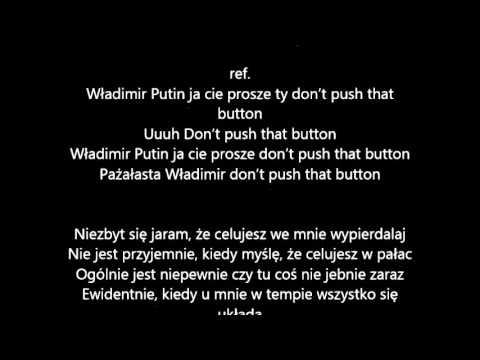TEDE - Pażałsta karaoke tekst