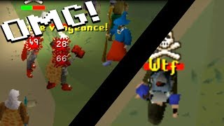 1 Hit Rushing Pkers OSRS (one shot kills only) Part 2!