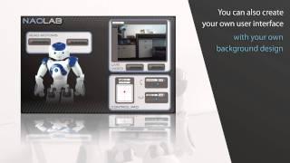 Gostai Lab - GUI creator for robotics