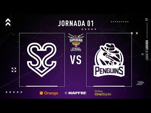 S2V ESPORTS vs PENGUINS | Superliga Orange League of Legends | Jornada 01 | Temporada 2019