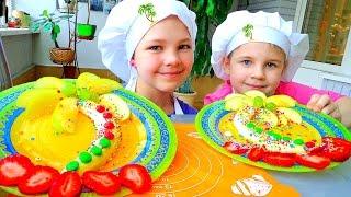 Сладкие радости с Настей и Ксюшей! Тропический Банановый остров. Лучшие рецепты для детей.(, 2016-04-08T13:44:56.000Z)