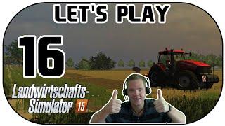 Let's Play Landwirtschafts Simulator 2015 Part 16 Der erste Baum muss dran glauben