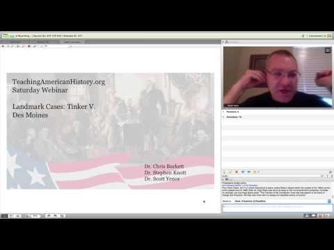 Landmark Cases: Tinker v  Des Moines - Teaching American History