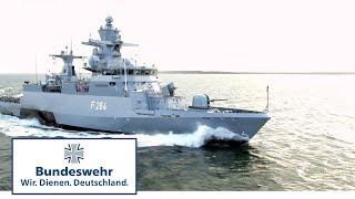 Manöver im Dunkeln: Minenlegen der Korvetten - Bundeswehr