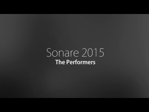 Sonare Night 2015 - The Performers
