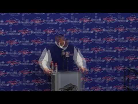 Buffalo Bills Rex Ryan press conference post Pittsburgh Steelers loss