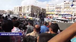 بالفيديو و الصور.. تشييع جنازة الفنان سيد زيان من مسجد الحصري