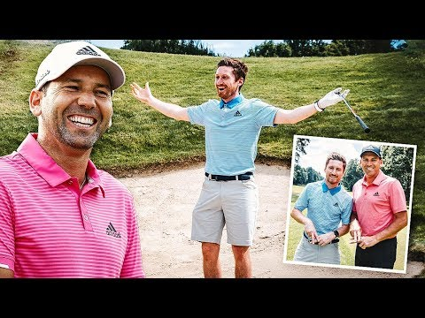 I HIT THE SHOT OF MY LIFE & BEAT SERGIO GARCIA!!