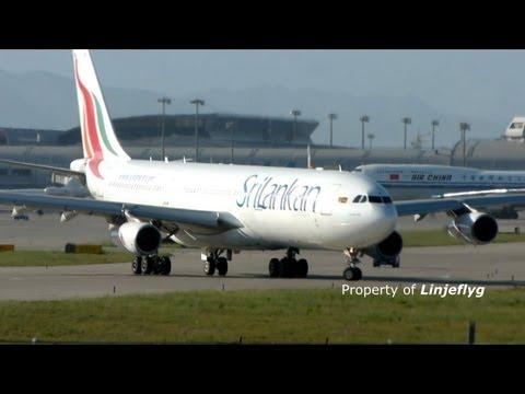 SriLankan Airlines A340-313X  4R-ADG  Presidential VIP flight