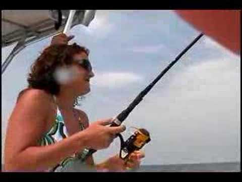 outer banks north carolina cobia and shark fishing