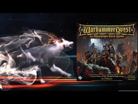 Настольная игра Warhammer Quest: The Adventure Card Game. Часть 2. Прохождение 1
