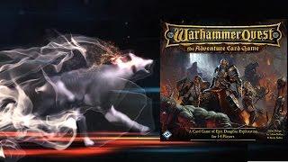 Настольная игра Warhammer Quest: The Adventure Card Game. Часть 2. Прохождение 1