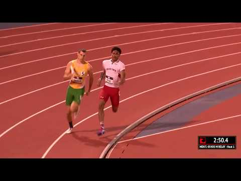 Baylor vs Texas Tech 4x400m | 2017 Big 12 Track & Field Championship