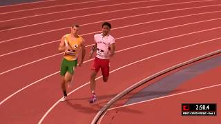 Baylor vs Texas Tech 4x400m | 2017 Big 12 Track & Field Championship