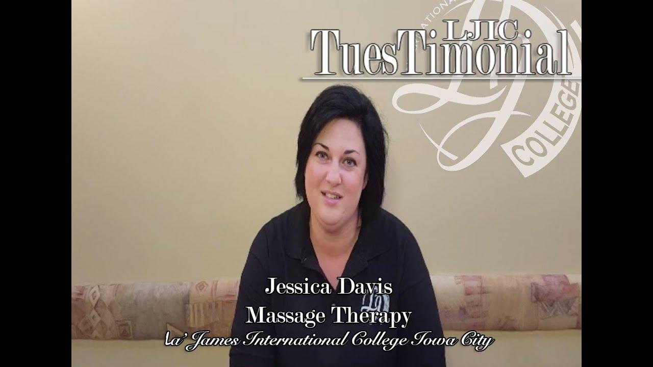 Meet Jessica from La' James International College in Iowa City ...