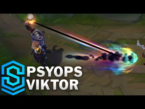 PsyOps Viktor Skin Spotlight - Pre-Release - League of Legends