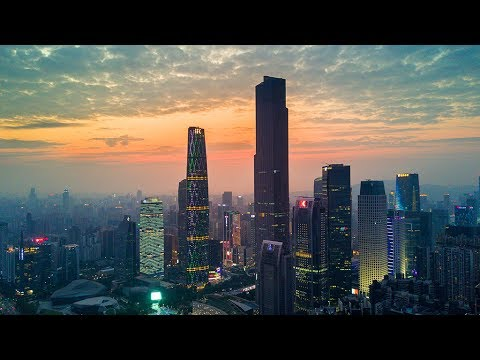 航拍 廣州 DJI Drone aerial video Guangzhou