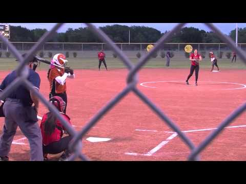 Lady Tiger V Lady Titans Softball - YouTube