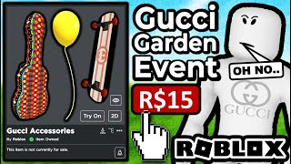 This Event Is Really Weird... (Roblox Gucci Garden)