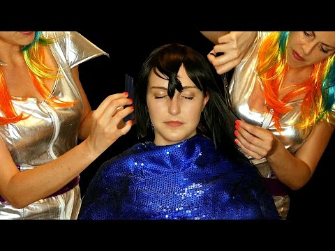 ASMR Haircut Roleplay Alien Abduction Kidnapped – Binaural Ear to Ear Soft Spoken
