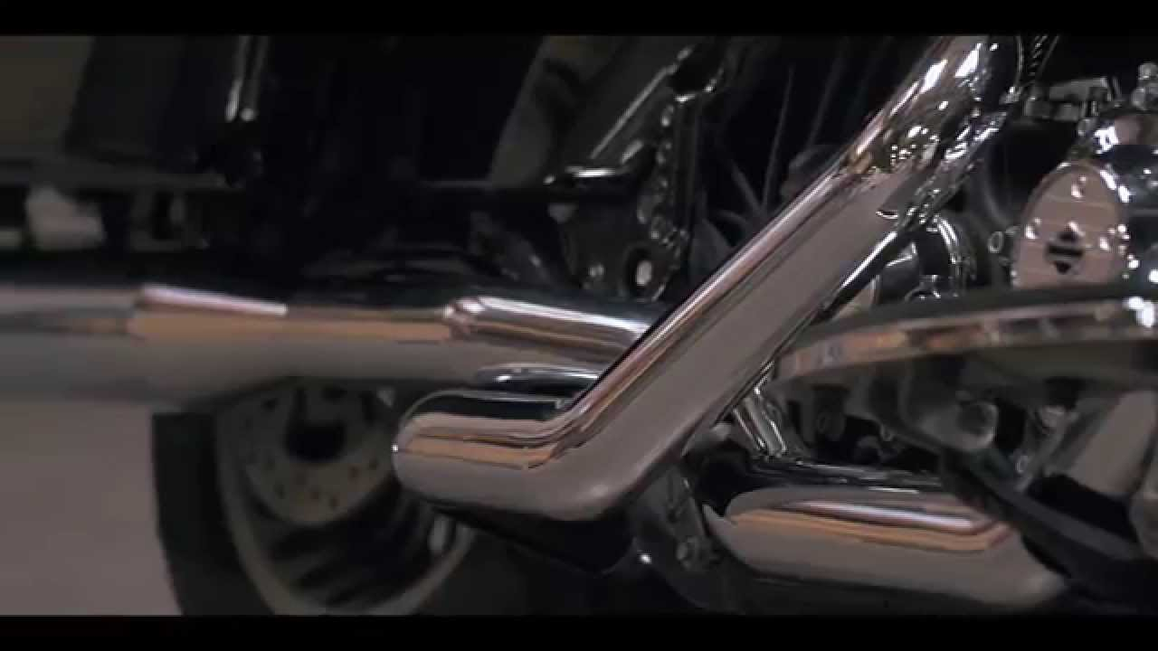 MagnaFlow Harley-Davidson Touring Motorcycle Knockout Slip-Ons Exhaust  Sound Clip