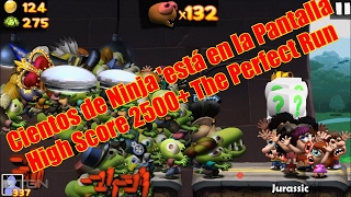 Zombie Tsunami Cientos de Ninja 'está en la Pantalla High Score 2500+ The Perfect Run