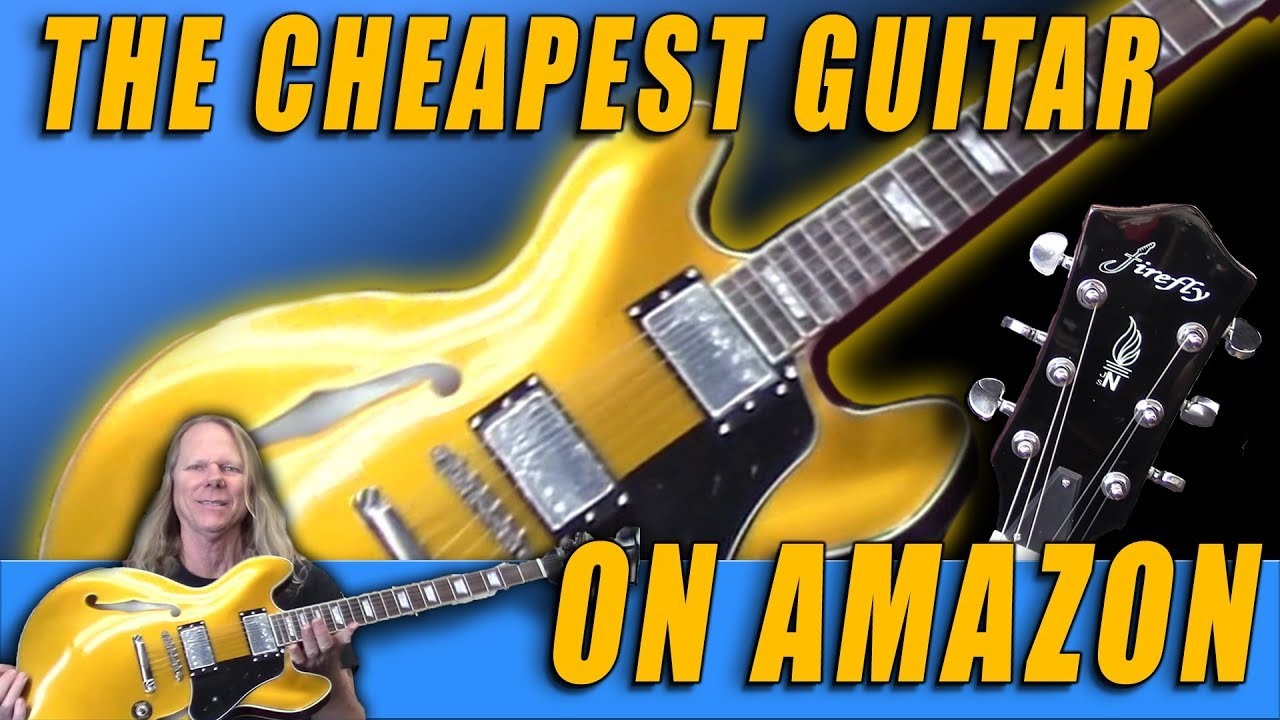 The Cheapest Guitar on Amazon! - YouTube