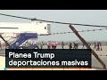 Planea Trump deportaciones masivas - Trump - Denise Maerker 10 en punto