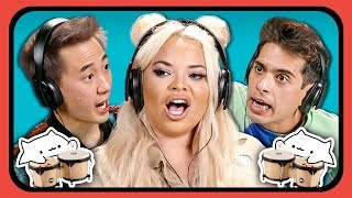 YouTubers React To Bongo Cat Meme Compilation