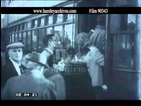 Swansea and the mumbles Railway, 1950's - Film 90343