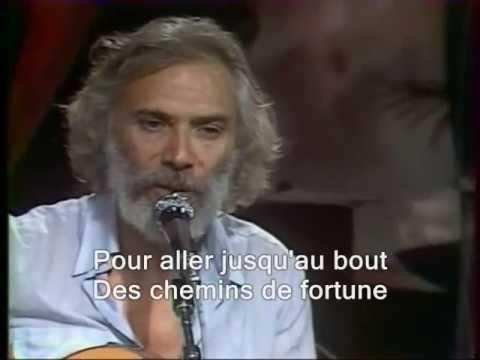 Georges Moustaki - Ma liberté (sous-titres en français)