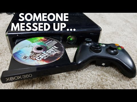 I Bought A USED Xbox 360 COD Bundle From GameStop...