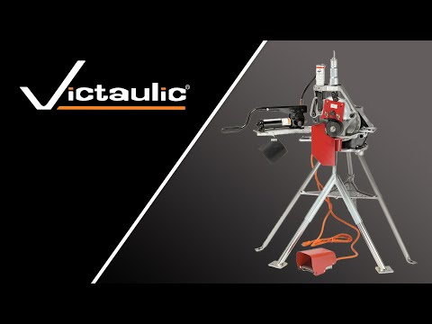 Victaulic VE272SFS Pipe Roll Grooving Tool Set-Up And Operation Reference