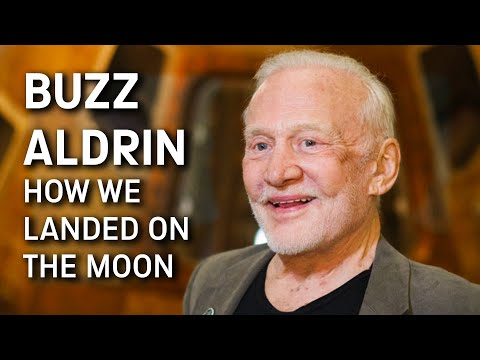 Lee Valsvik - Buzz Aldrin talks about the Eagle landing on the Moon - 50 yrs ago!