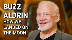 Hear Buzz Aldrin tell the story of the first moon landing