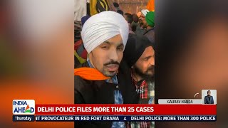 Key Accused In Delhi Red Fort Violence Deep Sidhu Goes Missing