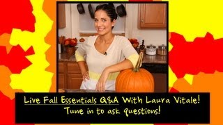 LIVE EVENT: Fall Essentials with Laura Vitale thumbnail