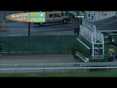 video thumbnail for MONMOUTH PARK 08-28-20 RACE 6