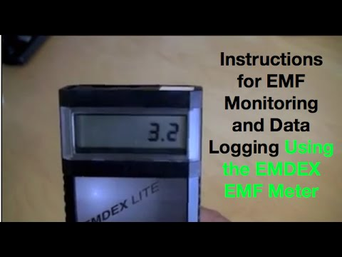 Remote EMF Testing Services | EMDEX Meter Data Logging