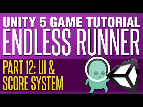 Unity Endless Runner Tutorial #12 - Score & High Score Syste