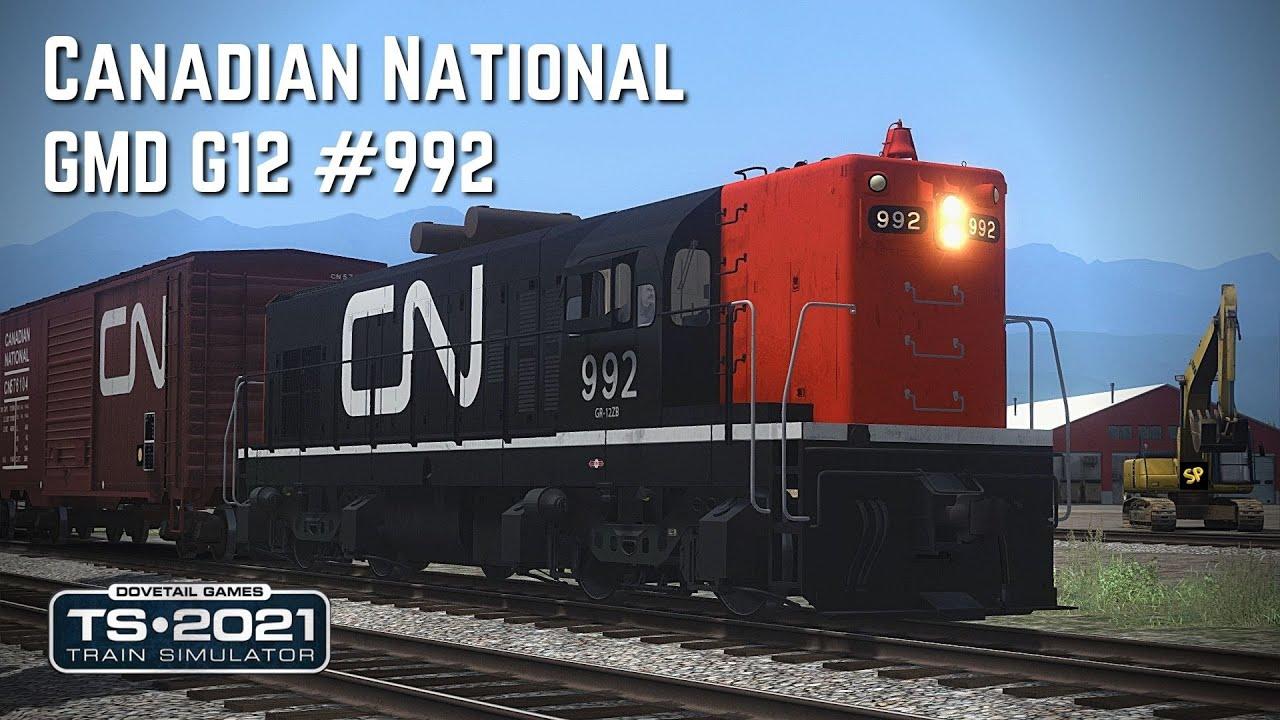 Train Simulator 2021: Canadian Nat'l GMD - G12 #992