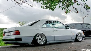 Tuning Mercedes W124 Coupe #3