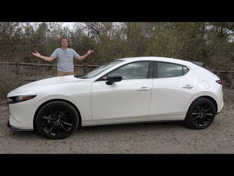 Mazda3 Turbo 2021 года - это крутой горячий хетчбек на полном приводе