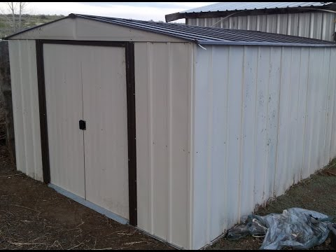 NP101267 10'X12' Arrow Storage Shed Assembly - L2Survive with Thatnub