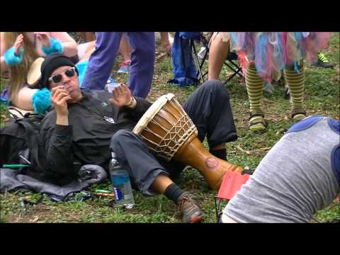 Eeyore's Birthday Party 2014 Drum Circle #1  (1 hour of drumming and dancing) (HD)