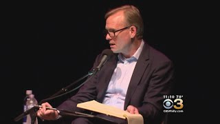CBS This Morning's John Dickerson Makes A Stop At Keswick Theatre