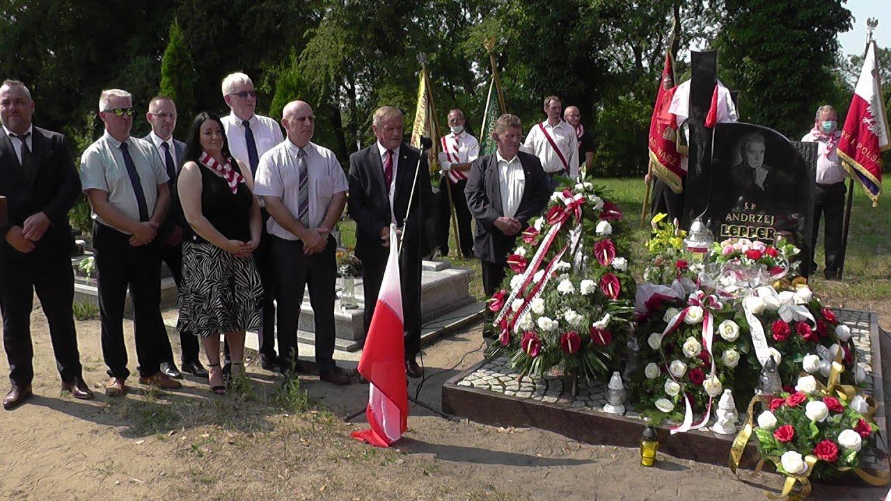 9 rocznica upamiętniająca morderstwo Andrzeja Leppera - Krupy 2020 część druga