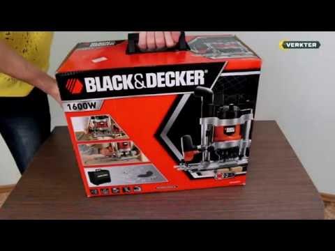 Håndoverfres Black & Decker KW 1600 EKA